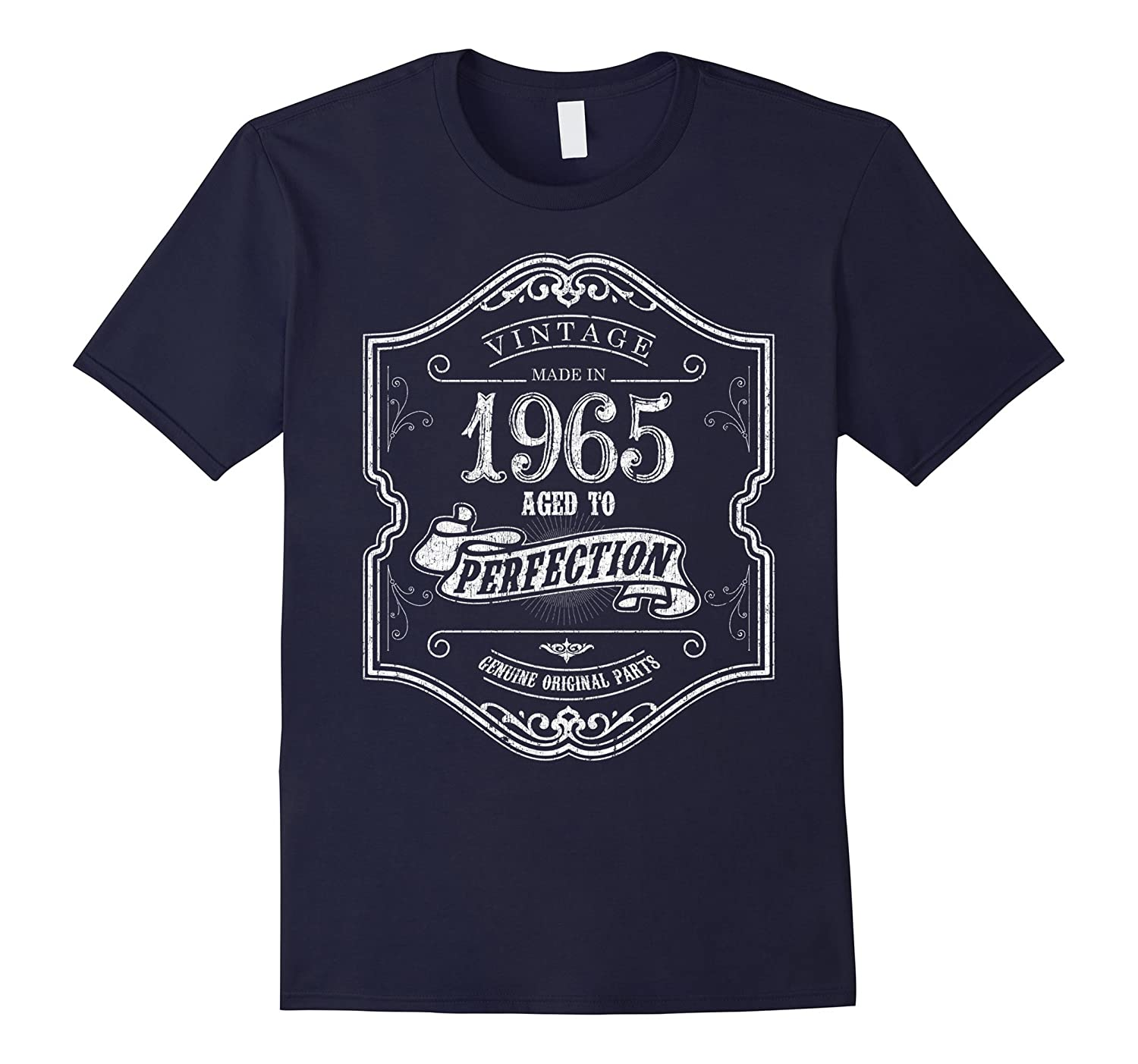 Born in 1965 T-shirt, 52 Year old birthday gift, 1965, 52nd-FL