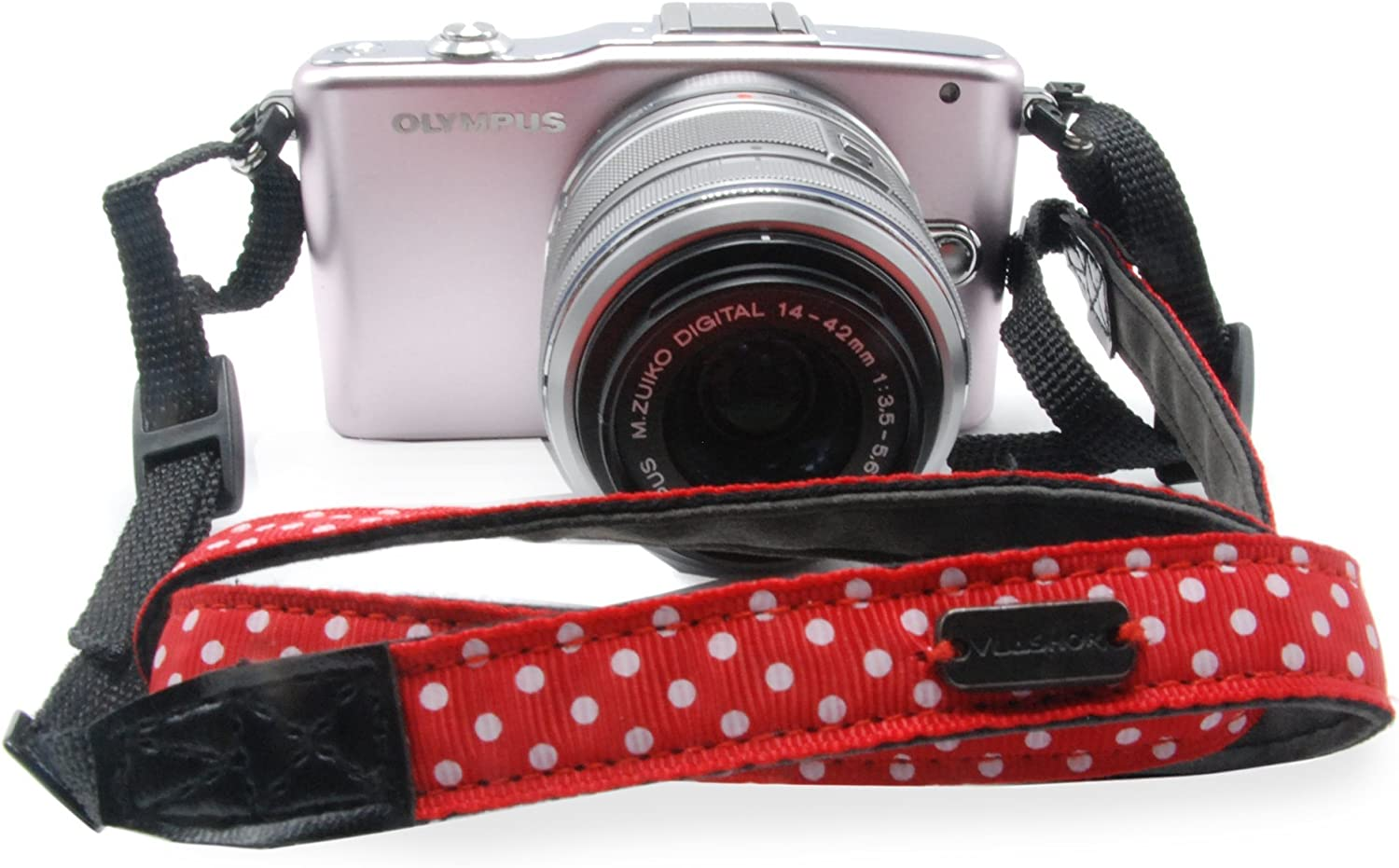 Designed for Comfort and Ease of Use VLASHOR Compact Camera Petit Strap Great for Anti Theft and Carrying over the Shoulder or Neck Limit time sale Perfect for Compact Cameras Petit Redplanet