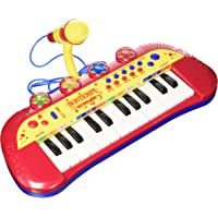 Bontempi-122931 Teclado electrónico de 24 Teclas y micrófono (Spanish Business Option Tradding 12 2931)