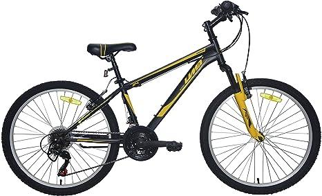 Umit 24 Pulgadas Negra/Amarilla, Bicicleta XR-240 Partir de 9 años ...
