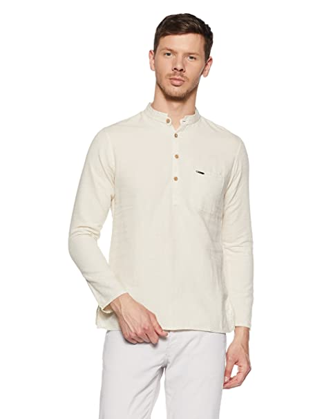 Peter England Men's Kurta Kurtas at amazon