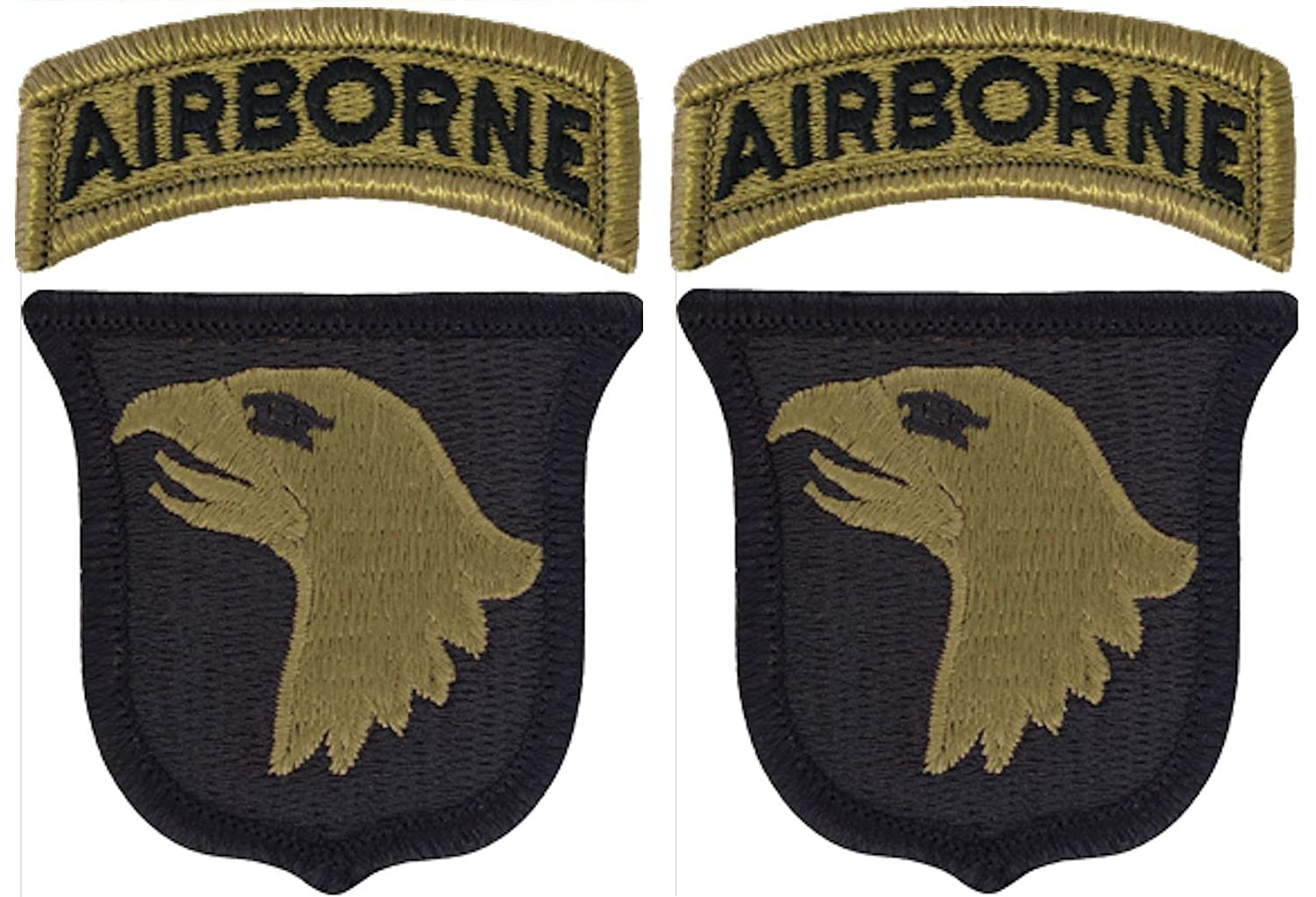 101st Airborne Division OCP Patch with Airborne Tab - Scorpion W2 - 2 PACK 4337027383