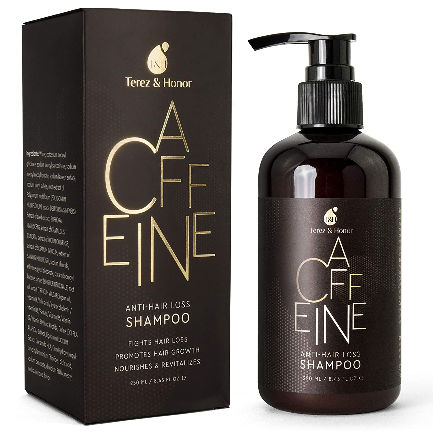 Amazon Com Caffeine Hair Loss Hair Growth Shampoo Volumizing Thinning Hair With Natural And Healthy Ingredients Beauty