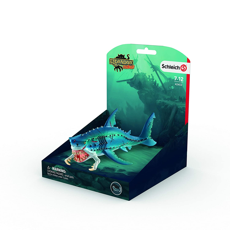 Figura pez monstruoso Color azul Schleich 18 cm