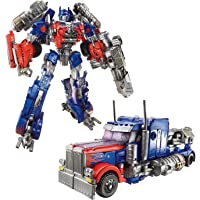 KITMEER Transformers Leader Class Optimus Prime Robot to Truck Converting Figure (Blue)