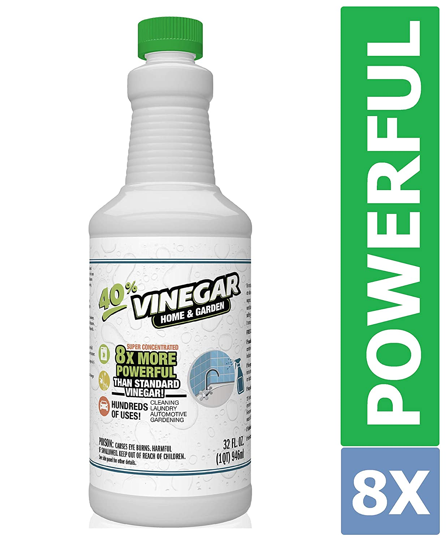 40% Vinegar Concentrate | Acetic Acid Cleaning Vinegar | Home & Garden - 32 oz