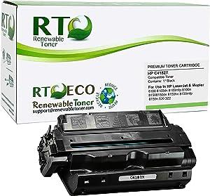 Renewable Toner Compatible Toner Cartridge High Yield Replacement for HP C4182X 82X Laserjet 8100 8150