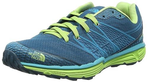 The North Face W Litewave TR, Zapatillas de Running para Mujer, Azul (Blue Coral/Budding Green), 38 EU: Amazon.es: Zapatos y complementos