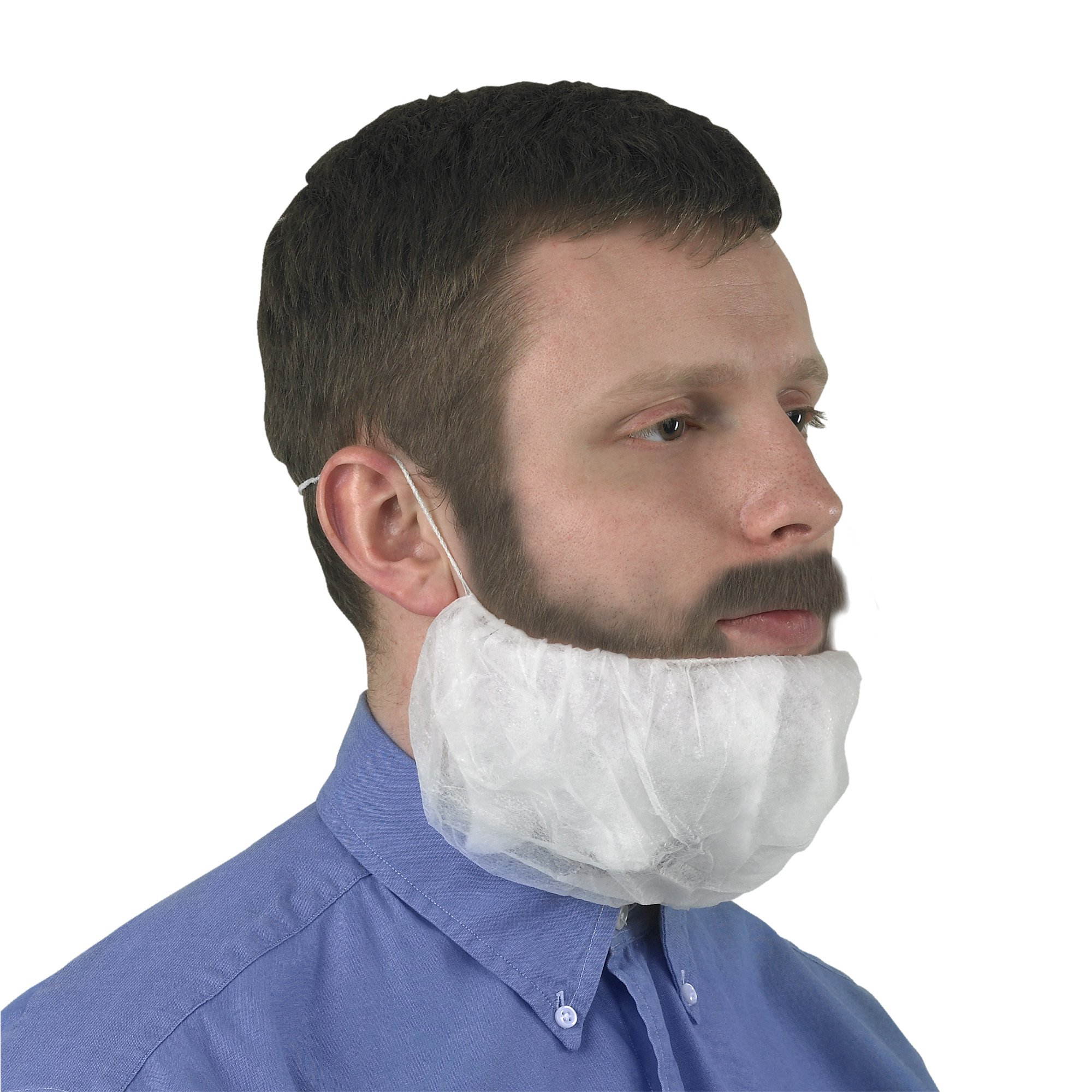 Kimberly-Clark KleenGuard A10 Polypropylene Light Duty Beard Cover (Pack of 1000)