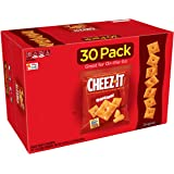 Cheez-It Baked Snack Cheese Crackers, Original, Single Serve, 1 oz Bags (30 Count)