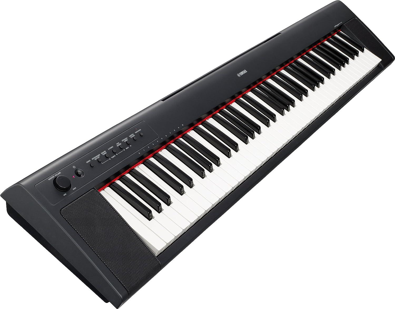 Yamaha Series NP31 ligero compacto portátil teclado de 76 teclas