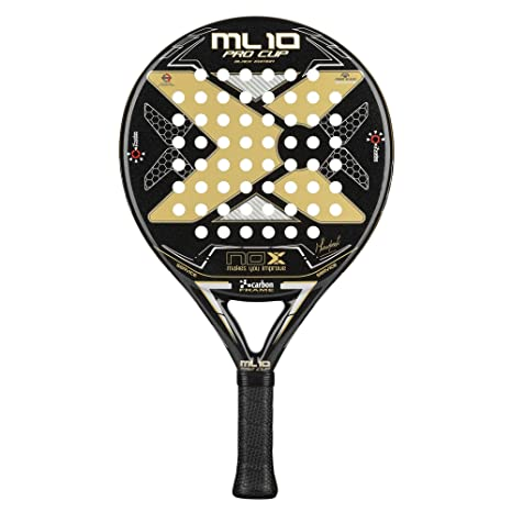 NOX Pala de pádel ML10 Pro Cup Black Edition: Amazon.es ...