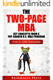 The Two-Page MBA: 3-in-1 The CFO Toolbox