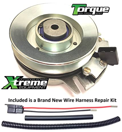 81huPX%2BWR9L._SY463_ amazon com bundle 2 items pto electric blade clutch, wire cub cadet pto clutch wire harness repair kit at bayanpartner.co
