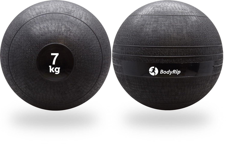 BodyRip - Balón Medicinal (7 kg, no rebota): Amazon.es: Deportes y ...