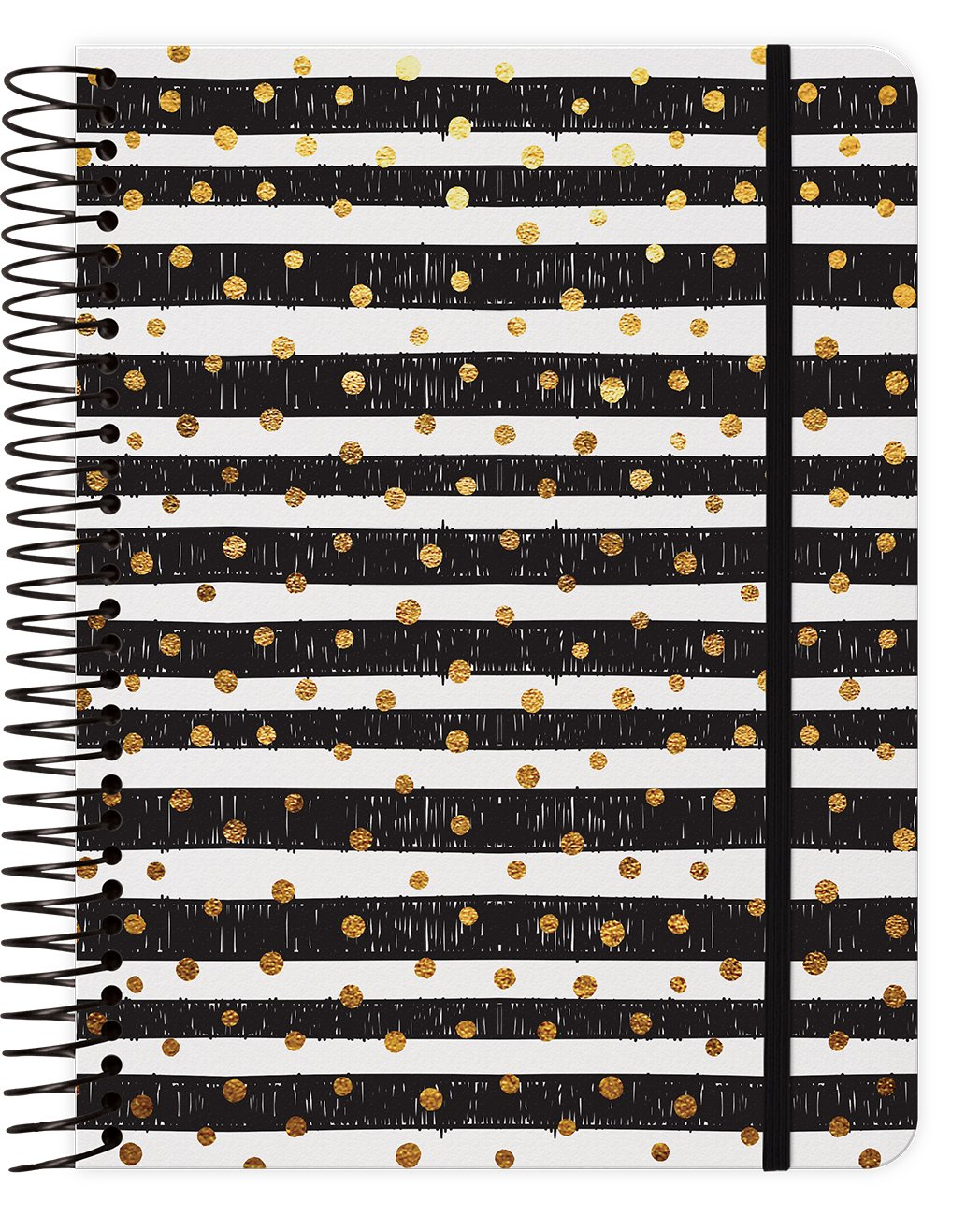 Download Gold Dots 2018 Weekly Note Planner Spiral Bound pdf