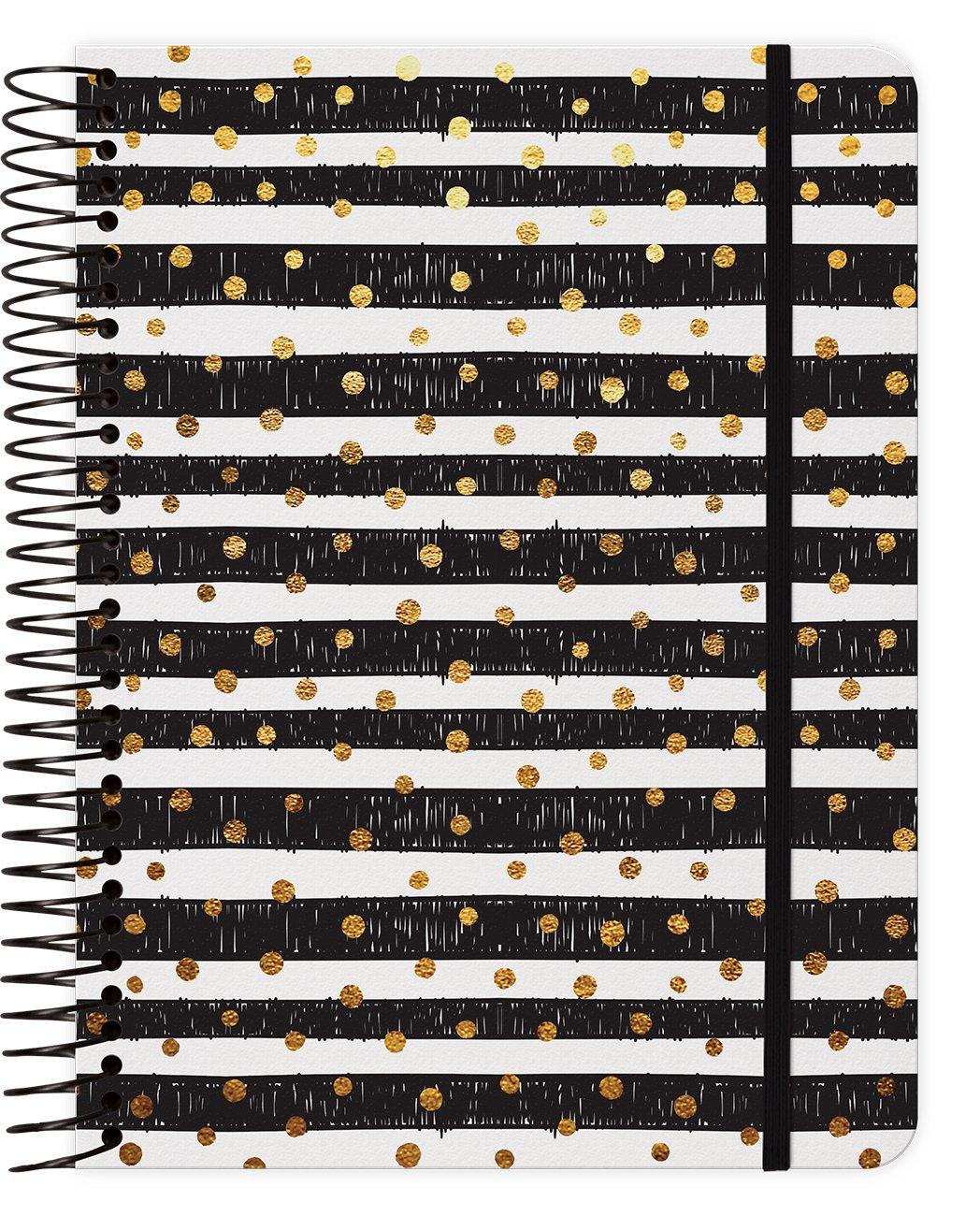 Download Gold Dots 2018 Weekly Note Planner Spiral Bound pdf epub