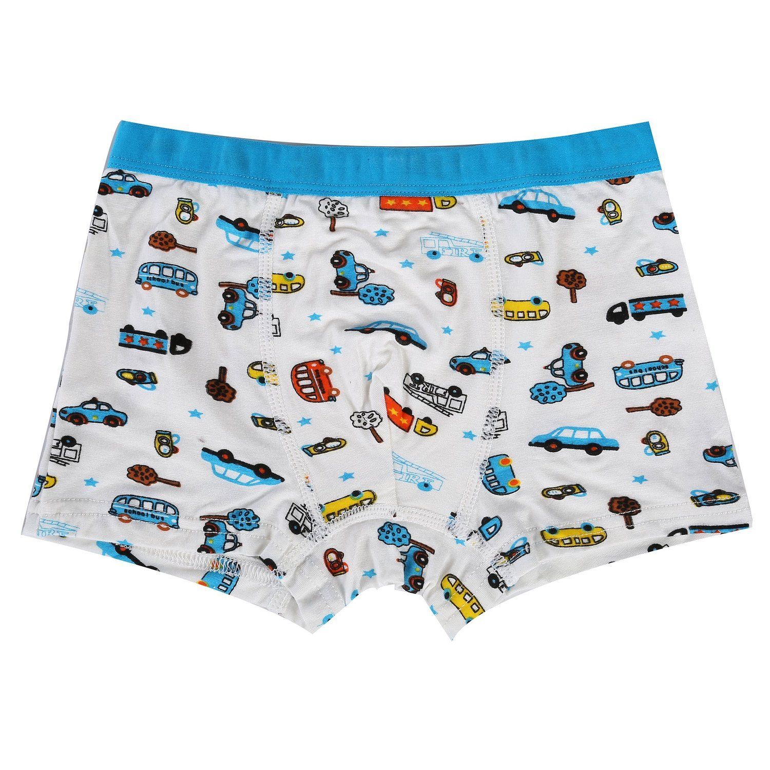 Bala Bala Boy's Boxer Brief Multicolor Underwear (Pack Of 5) (XL/Car Underwear, (Pack Of 5)/Car Underwear) by Bala Bala (Image #7)