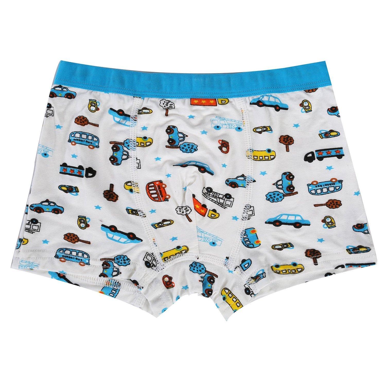 Bala Bala Boy's Boxer Brief Multicolor Underwear (Pack Of 5) (M/Car Underwear, (Pack Of 5)/Car Underwear) by Bala Bala (Image #6)