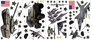 Wall Pops ST1289 Military Wall Sticker