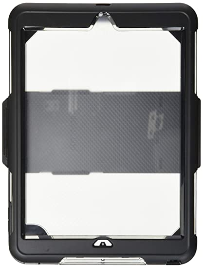 18f7723cead Griffin Survivor Extreme iPad 9.7 (2017) Case with Stand -  Impact-Resistant, Black/Clear