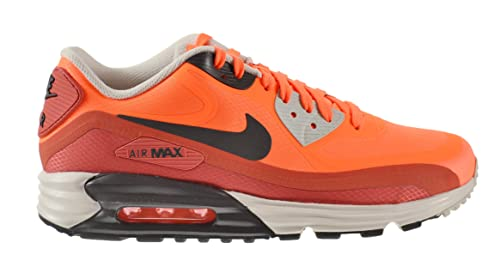 dee39f0d4b29 Nike Air Max Lunar 90 Water Resistant Men s Shoes Hyper Crimson Dark Ash-Red