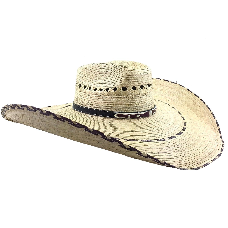 Western Peak Milani Guacho Large Straw Cowboy Ranch Hat CBHK0001