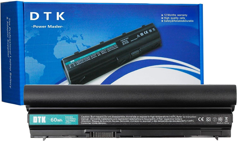 DTK RFJMW K4CP5 Y61CV J79X4 FRR0G Laptop Battery Replacement for DELL Latitude E6120 E6220 E6230 E6320 E6330 E6430S Notebook 6-Cell 11.1v 4400mAh
