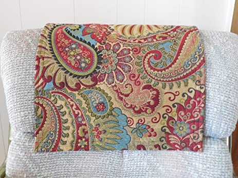 Love Seat Chair Cover Recliner Pad Headrest Pad Furniture Protector Deluxe Carnival Print 14x30 Sofa Chaise & Amazon.com: Love Seat Chair Cover Recliner Pad Headrest Pad ... islam-shia.org