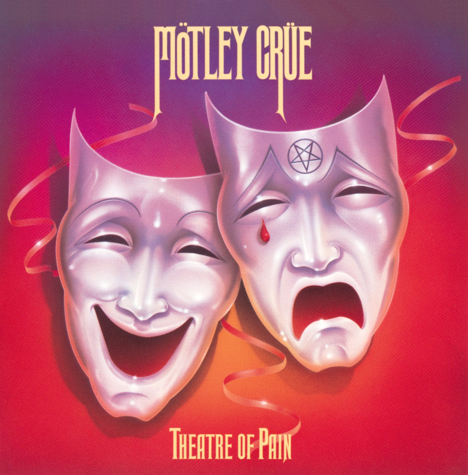 CD : Motley Crue - Theatre of Pain (CD)