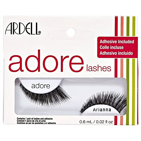 fd2bddff41b Amazon.com: Ardell Adore Arianna Lashes with Adhesive: Beauty
