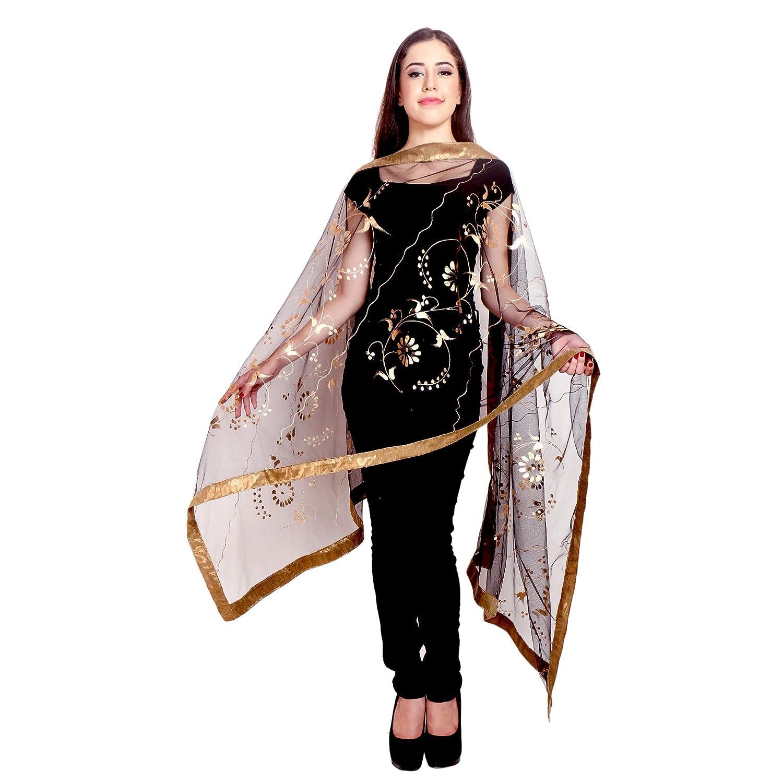 Long Indian Traditional Stole-Scarves Long -Shawl-dupatta-chunni-Scarf-Wrap RADANYA
