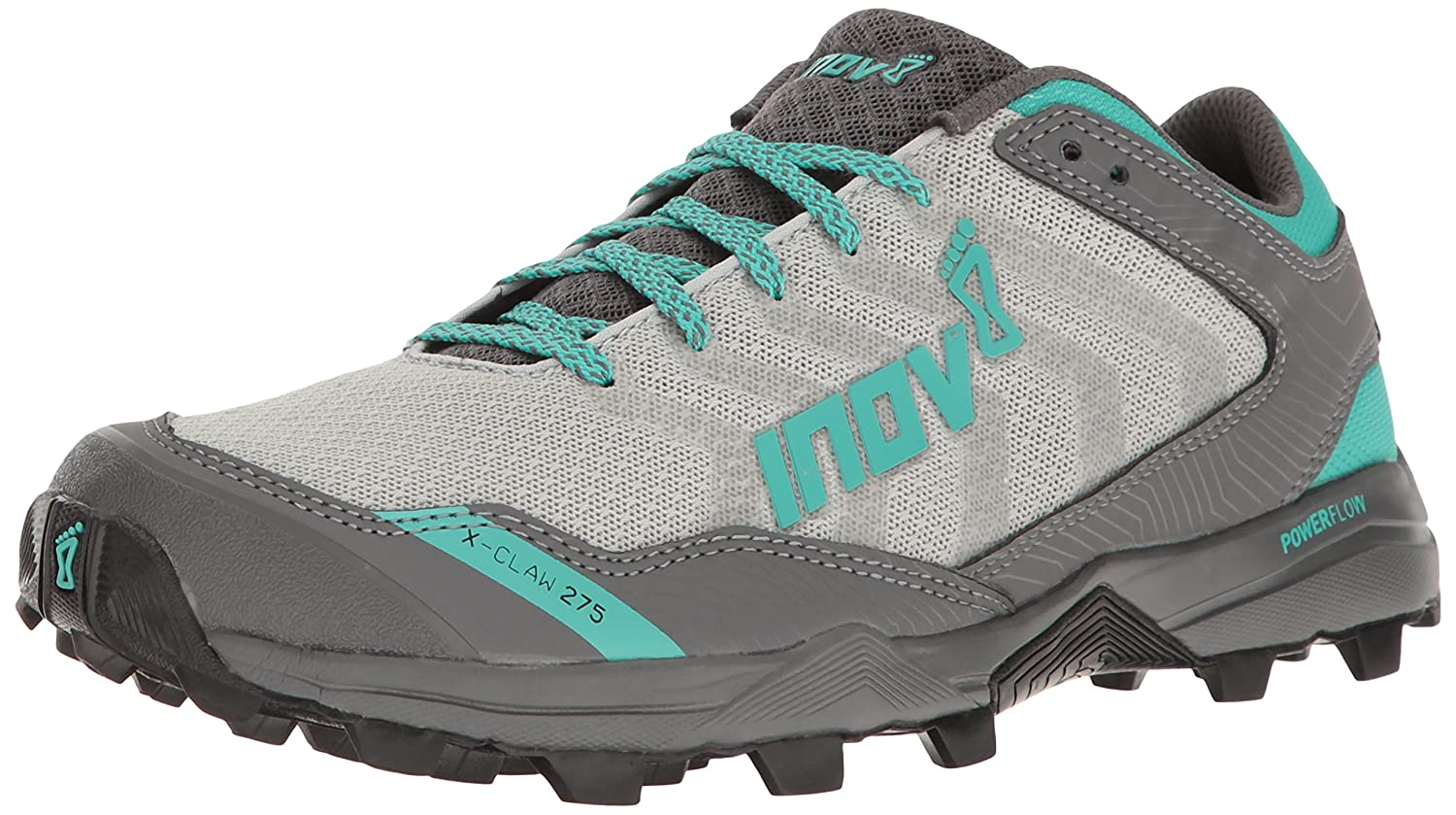 Inov-8 Women's X-Claw 275 Chill Trail Runner B01G50NYCY 7 E US|Silver/Teal/Grey