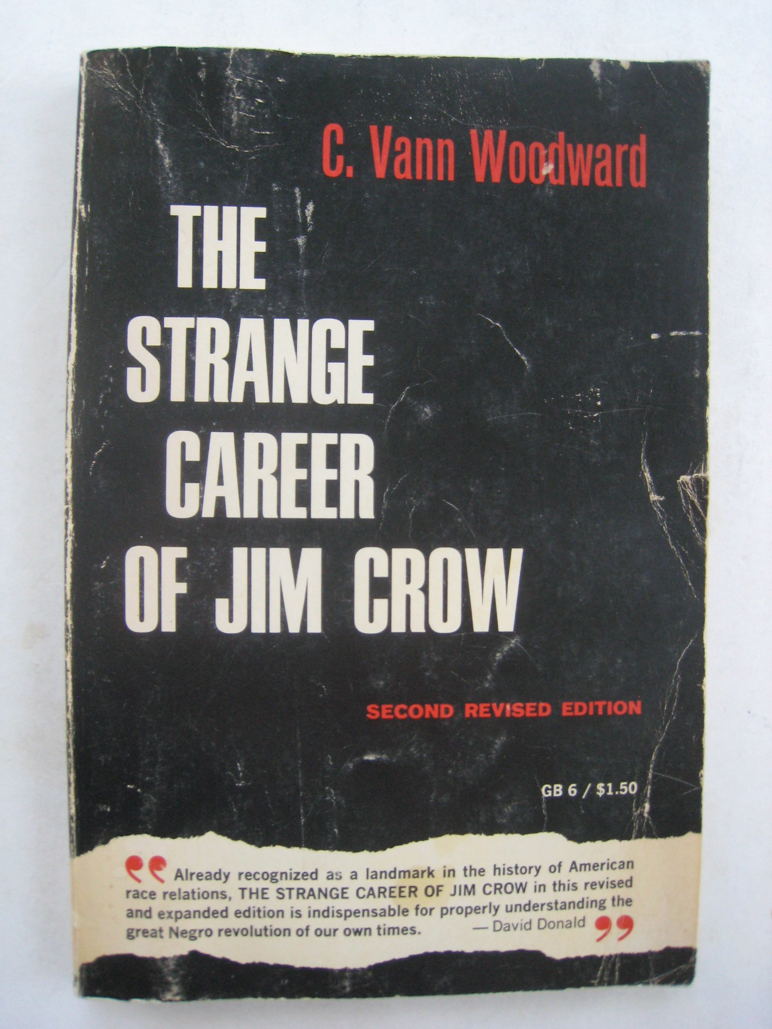 The Strange Career of Jim Crow -- Second 2nd Revised Edition: C. Vann Woodward: Amazon.com: Books