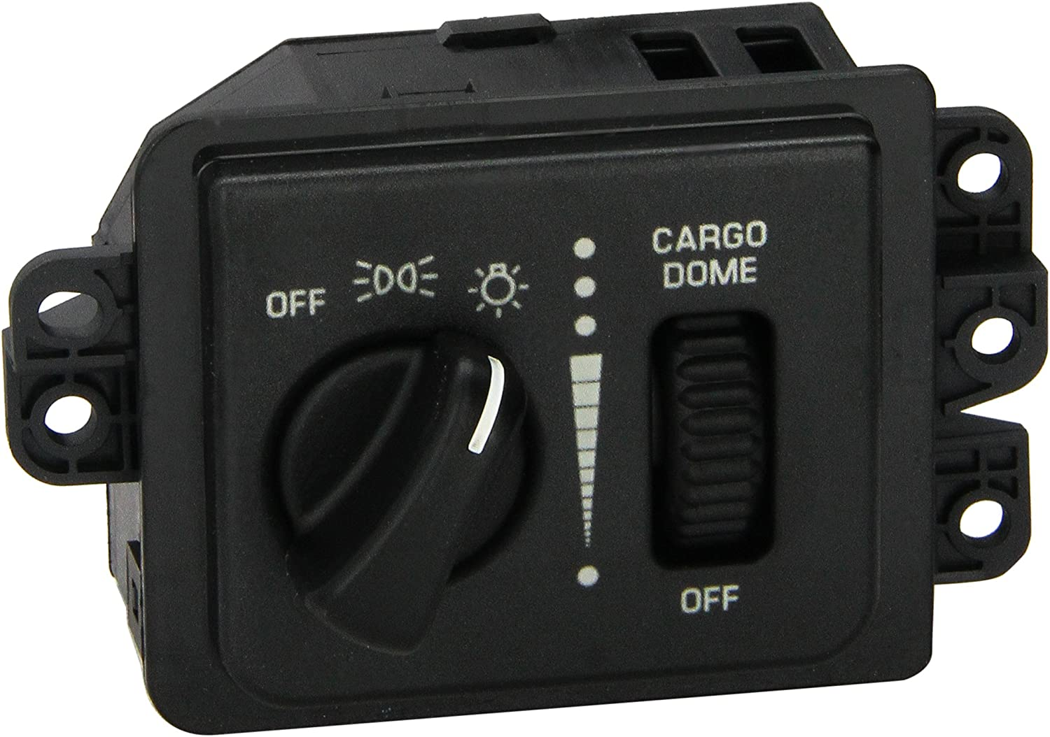 without Fog Lights Headlight Switch PT Auto Warehouse HLS-3851