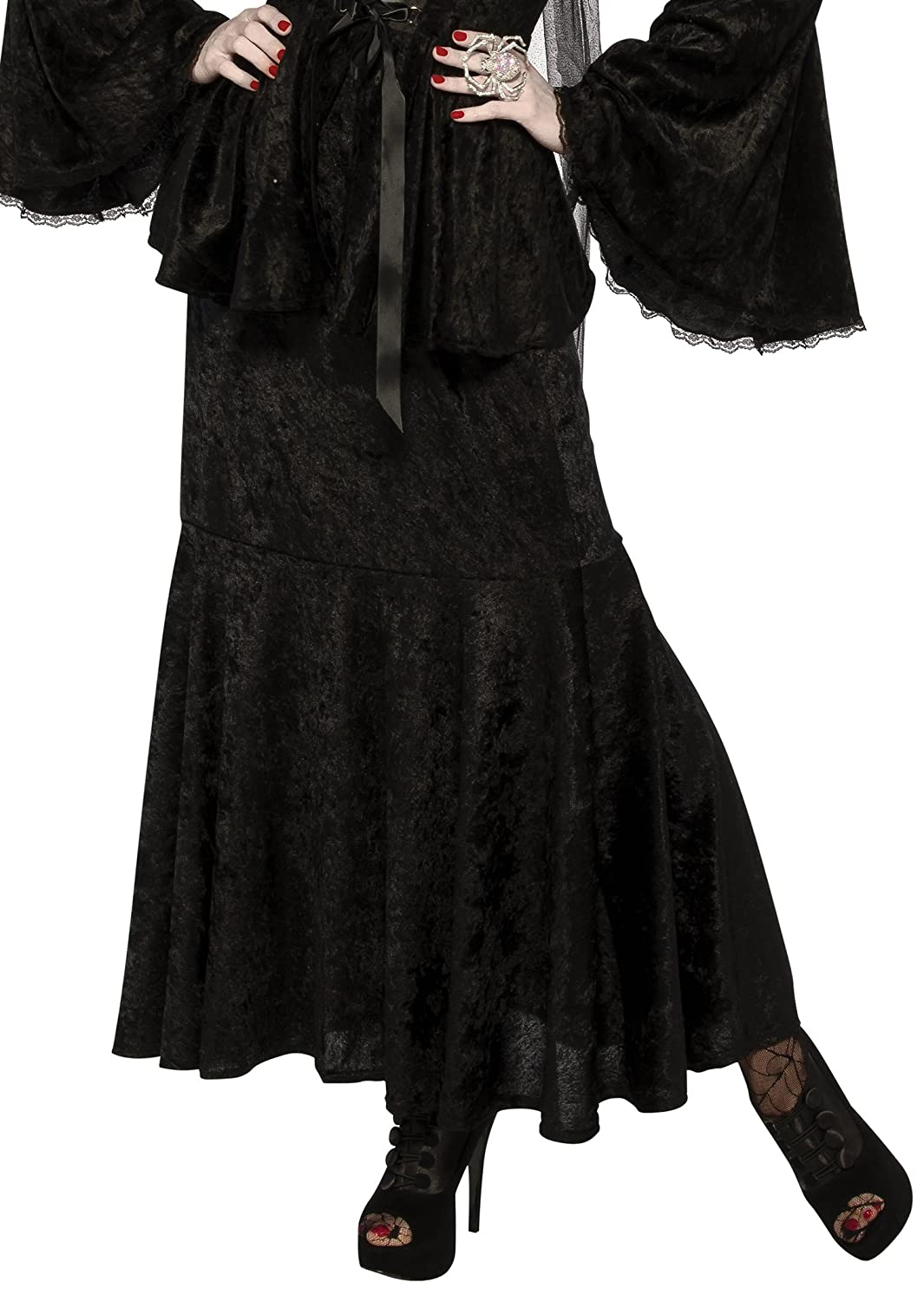 Victorian Clothing, Costumes & 1800s Fashion Rubies Costume CO. Womens Velvet Costume Skirt $5.91 AT vintagedancer.com