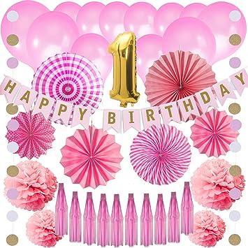 Amazon.com: Kit de decoración para cumpleaños – 36 piezas de ...