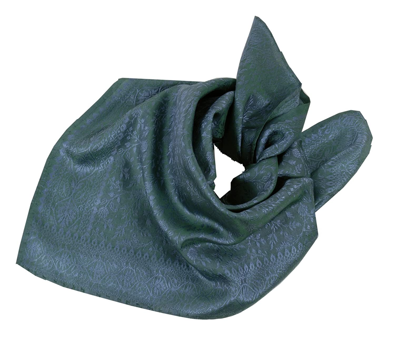 Moschen-Bayern Damen Herren Trachtenhalstuch Halstuch Seide Blau