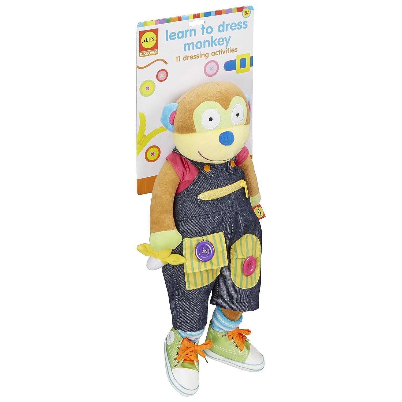 ALEX Toys Little Hands Learn To Dress Monkey 1492