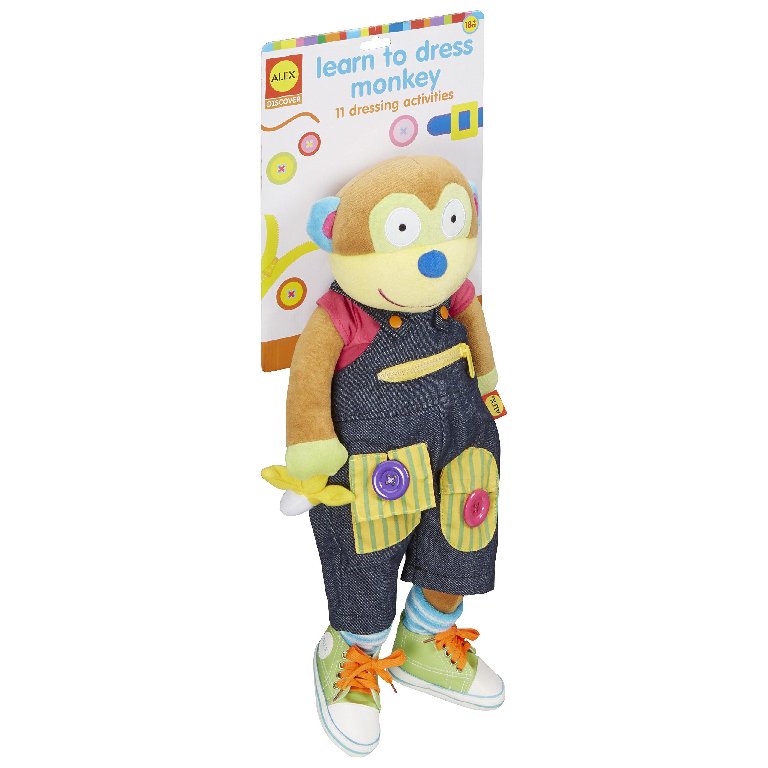 Alex Discover Learn to Dress Monkey