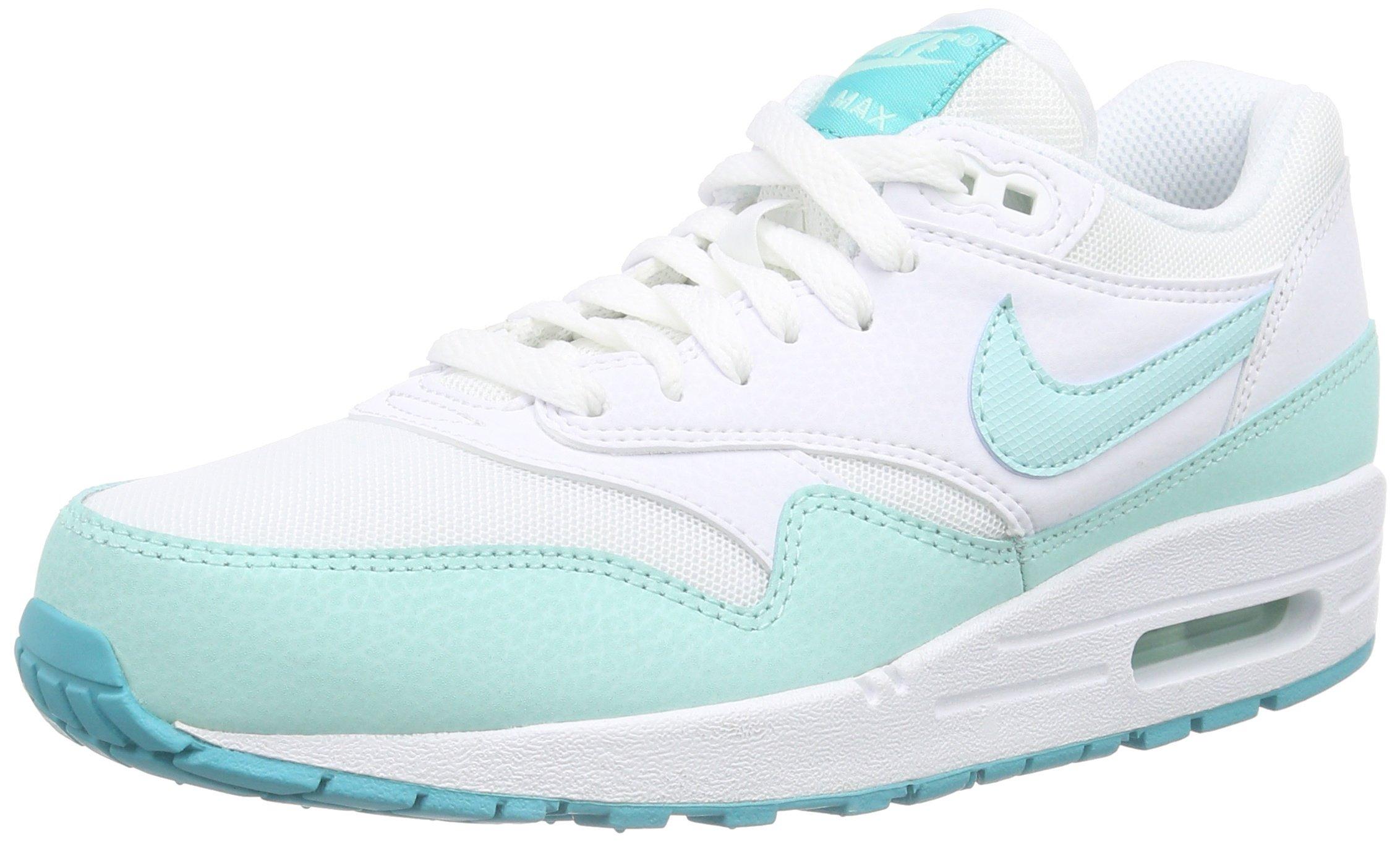 Nike Womens Air Max 1 Essential WhiteArtisan TealLight