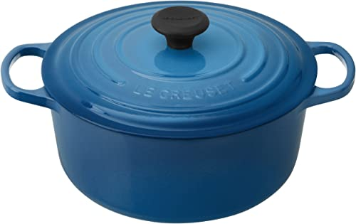 Le-Creuset-Enameled-Cast-Iron-5-1/2-Quart-Round-French-Dutch-Oven