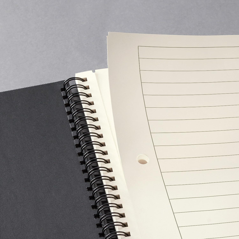 Sigel CO823 Cuaderno espiral, 17.4 x 21.4 cm, a líneas, Hardcover, negro, CONCEPTUM: Amazon.es: Oficina y papelería