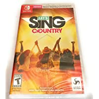 Deals on Let's Sing Country Nintendo Switch