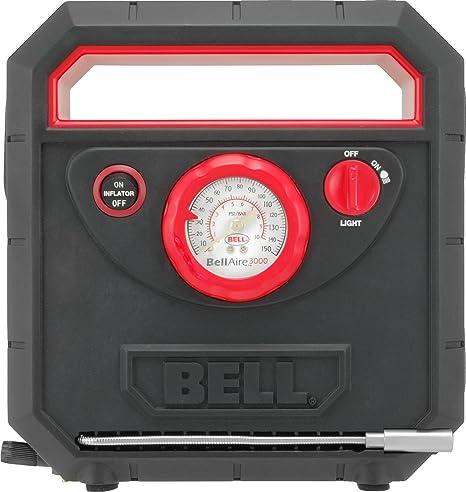 Bell Aire SS5096 Inflador de Neumáticos con Manómetro Programable y Apagado Automático, 3000
