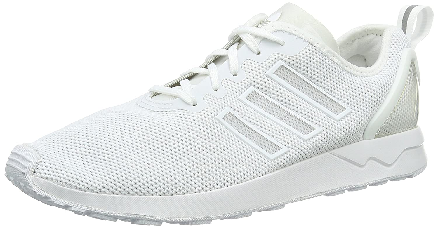 White (Ftwr White Ftwr White Ftwr White) adidas Unisex Adults' Zx Flux Adv Running shoes