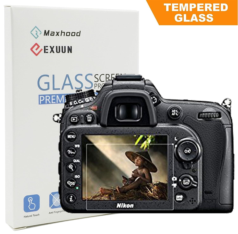 Nikon D7100 D7200 LCD Protector de pantalla de cristal templado ...