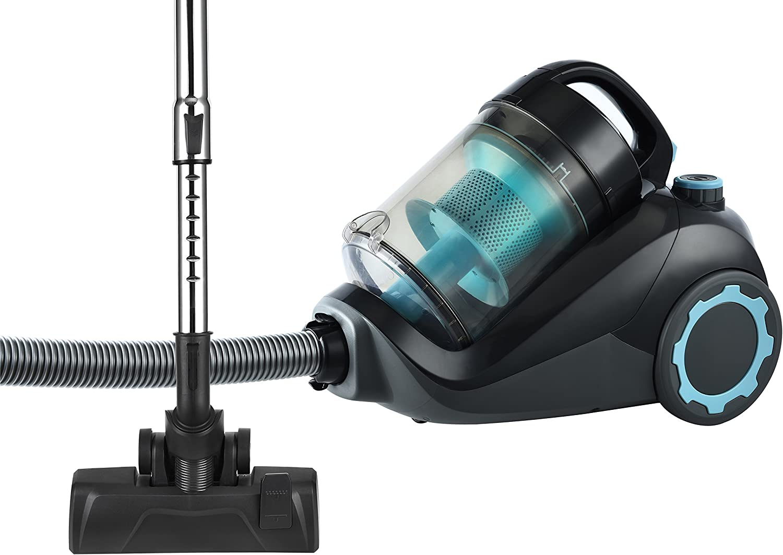TKG vc1024 – 700 W – Capacidad del depósito: 3 L – Aspirador sin bolsa filtro HEPA – clase energética A – Team Kalorik VC 1024, 700 W, 3 liters, azul/negro: Amazon.es: Hogar