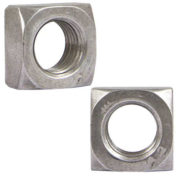 OPIOL QUALITY Lot de 20 écrous carrés en acier inoxydable ...