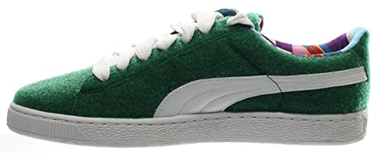 65d0609d1026 Puma x Dee and Ricky Men Basket (Green Verdant White) Size 13 US  Buy  Online at Low Prices in India - Amazon.in
